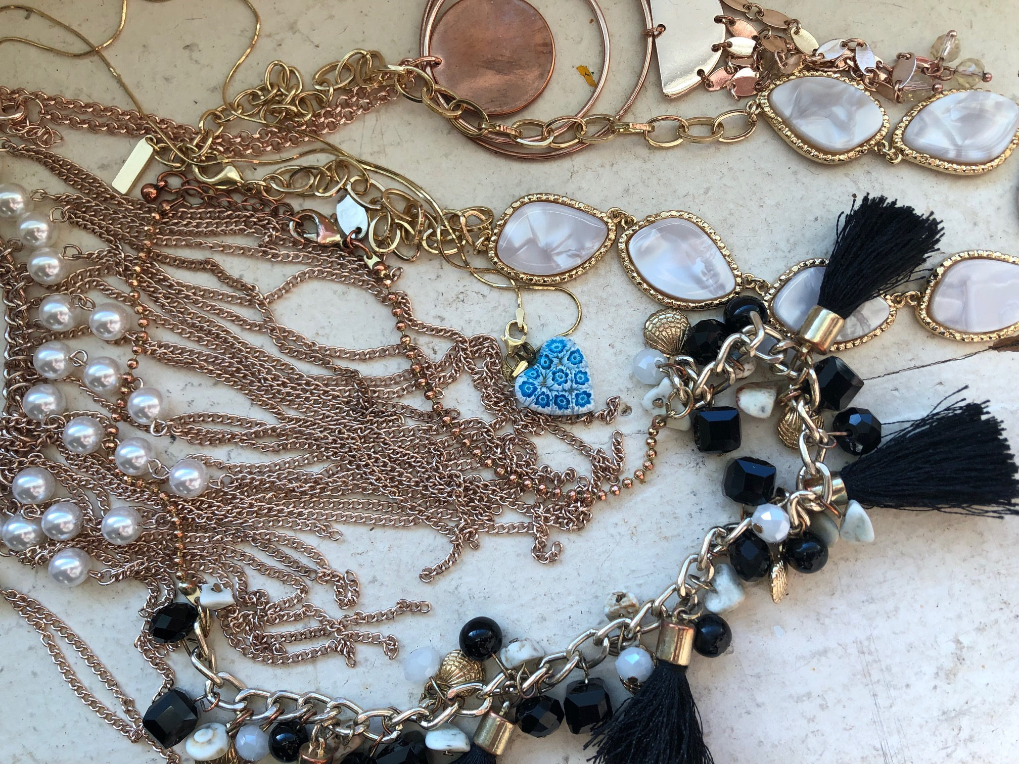 Jewelry Collection (Continued): Necklaces