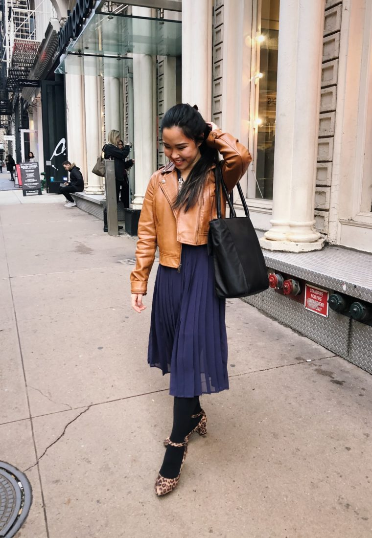 Transition from Winter to Spring: NYFW Look