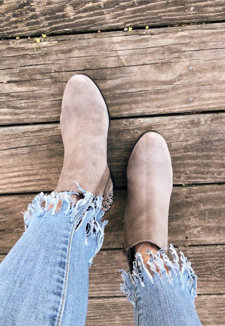 DIY Fringe Jeans (No Sew!)